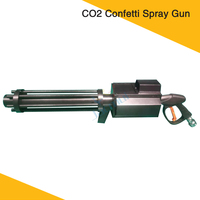 New DJ Equipment Colorful Paper CO2 Confetti Gun Stage Effect Machine For Party Event Wedding Show