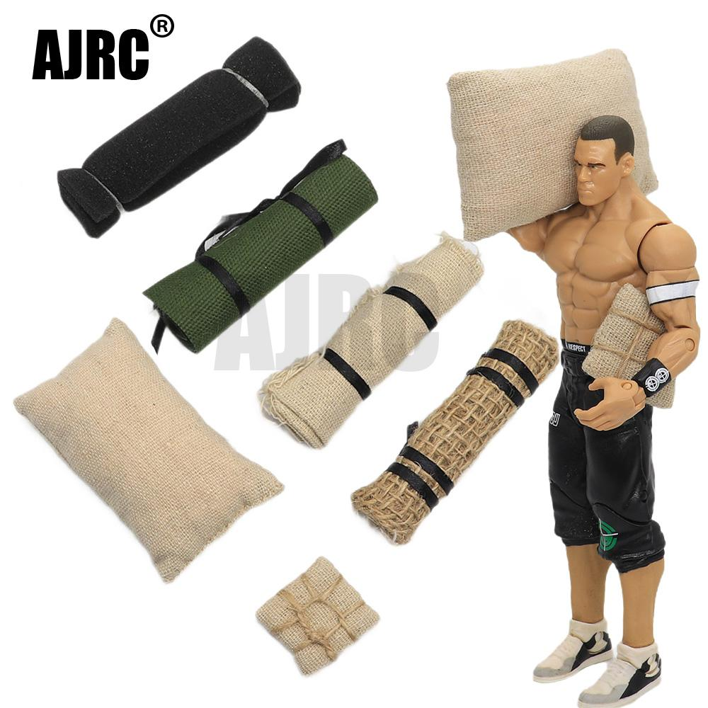 AJRC 1/16 tank military model car soldier accessories sand table scene props explosion bag military sand bag marching blanket