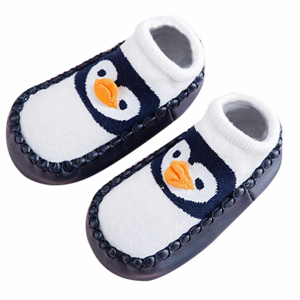 Pasgeboren Baby Knie Pads Jongens Meisjes Dier Warm Slipper antislip Slipper Vloer Schoenen Sokken Beenwarmers Rodilleras Bebes Gateo