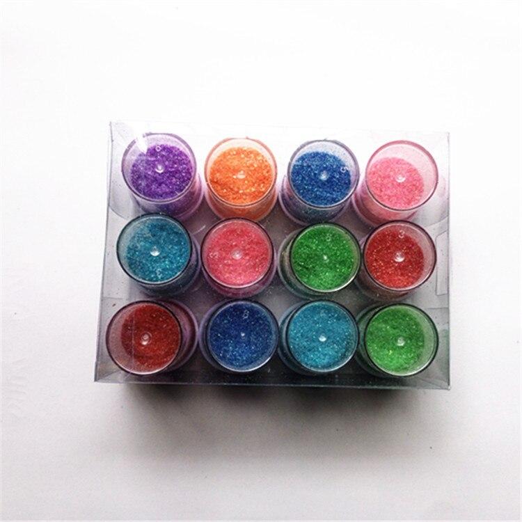 Best Nail Glitter Shiny Matte Shell Colorful Nail Art Pigment Dust Powder Manicure Nail Decorations  Zb002