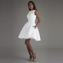 Pocket Occasion Short Dress