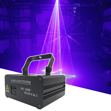Laser Projector Scanner Dj Disco Party Rgb Animation 600MW Effect-Pattern DMX512 1W Holiday
