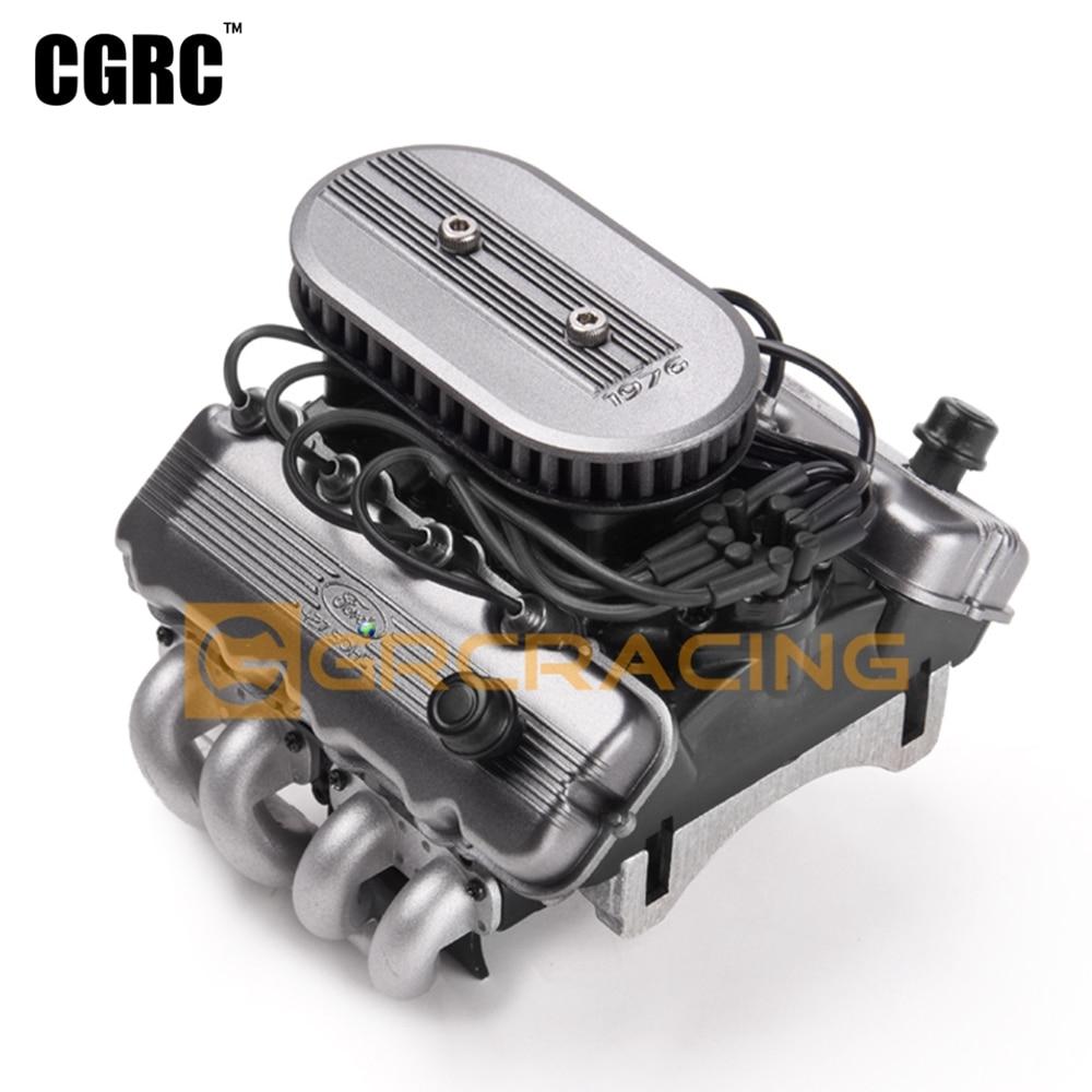 Классический Искусственный V8 F76 427 SOHC двигатель вентилятор радиатора для 1/10 RC Гусеничный автомобиль Traxxas TRX4 TRX6 G500 SCX10 D90 VS4 обновление
