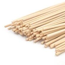 100 шт 3 мм* 24 см натуральные тростниковые диффузоры, ароматические Сменные Ротанговые палочки для освежителя воздуха
