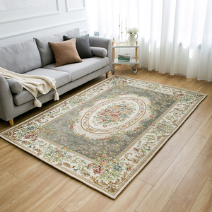Vintage Carpet Turkey Tapis Salon For Home Bedroom Floor Europe Luxury Carpet Washable Jacquard Woven Rug Cotton Persian Carpet