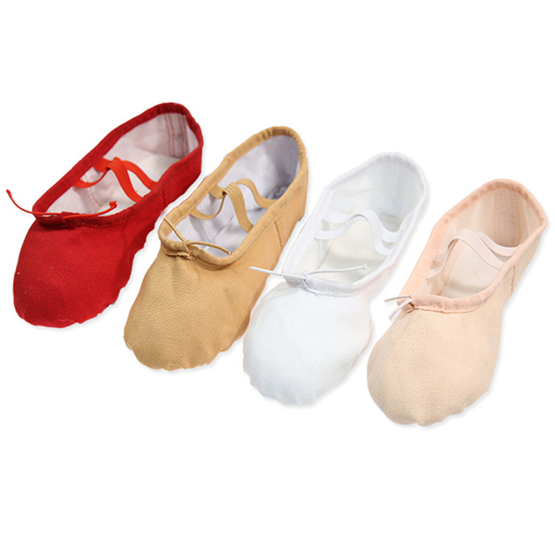 Hot 34-40 Cotton Soft Ballet Shoes Women Dance Shoes Yoga Sneakers Children Girls Ballet Dance Shoes Women Slippers