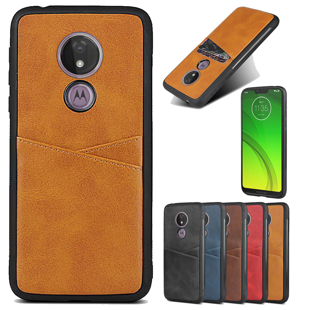 For Moto G G7 G6 E E5 Power Plus Play Phone Case Luxury Card Holder Case For Moto G G7 G6 E5 E Power Plus Play Leather Back Case