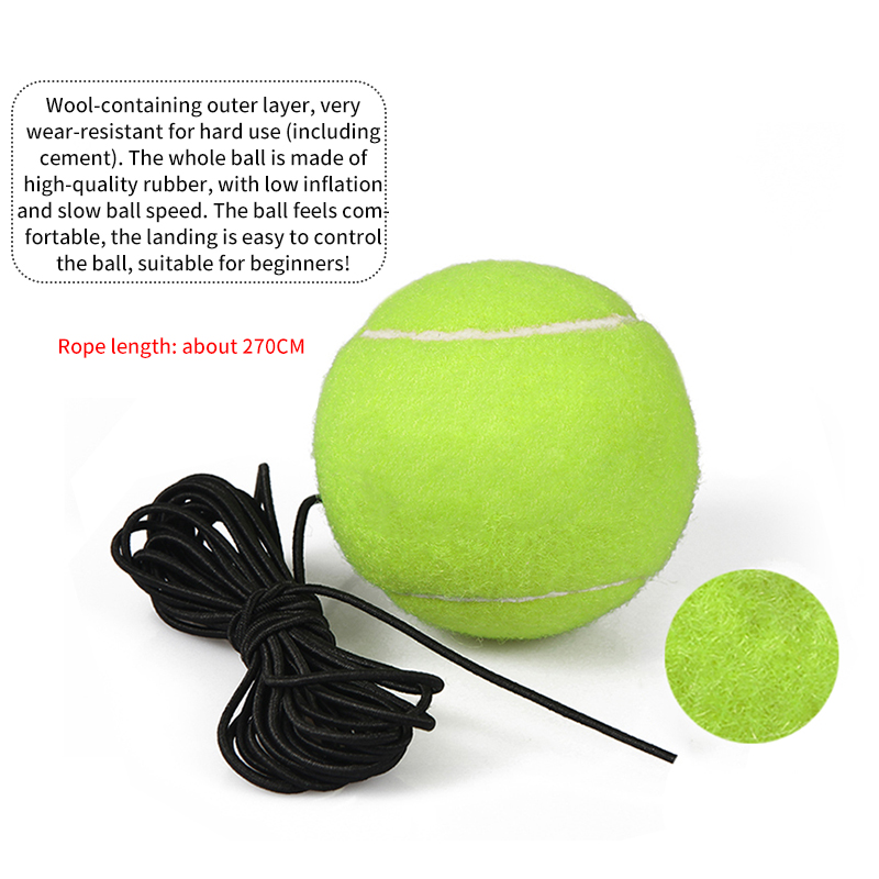 Self-Study Tennis Trainer and Rebound Ball With Exercise Baseboard as Tennis Training Tool 3