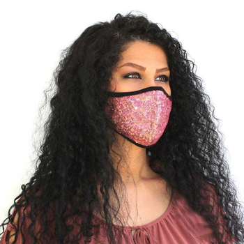 New Sexy Sequin Decoration Face Mask Bling for Women Female Dance Party Cosplay NightClub Gift