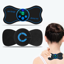 Patch Vibration Massage-Stimulator Electric-Neck-Massager Muscle-Relaxation Pain-Relief