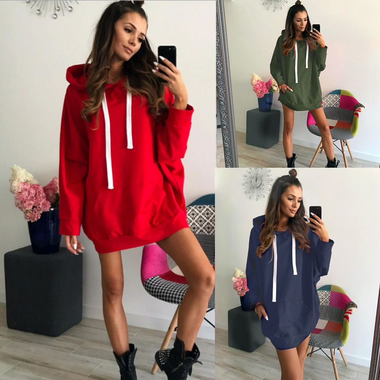 Hoodies Red 2020 New Design Hot Sale Hoodies Sweatshirts Women Casual Kawaii Harajuku Sweat Girls European Tops Korean
