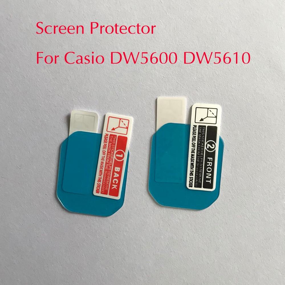 Nano Взрывозащищенный протектор экрана для Casio DW5600 DW5610 спортивные часы ЖК пленка для Casio DW5600/5610