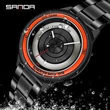 sanda brand new watch mens fashion trend quartz watch orologio uomo relogio masculino часы муржские наручные reloj deportivo hom