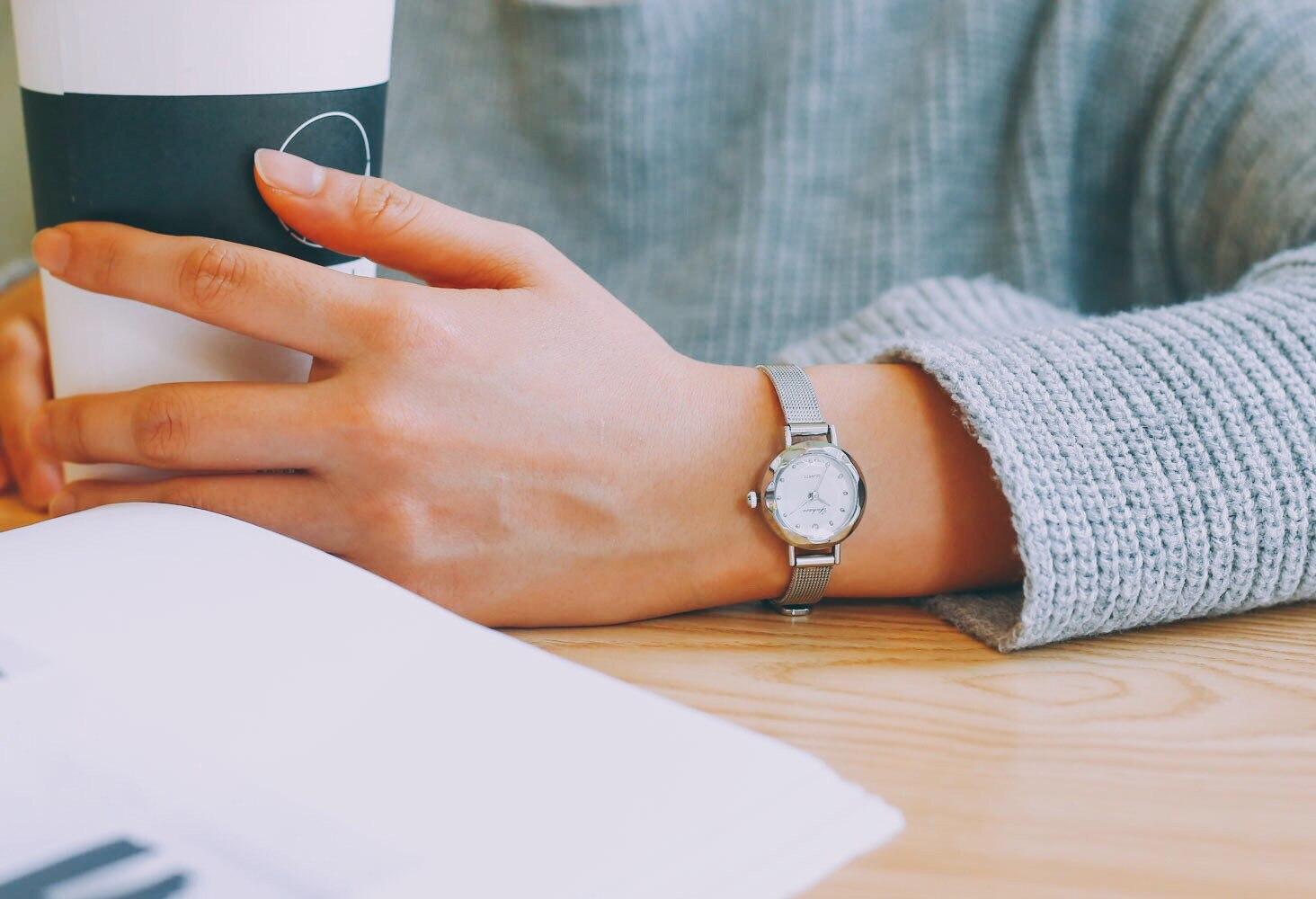 Casual feminino quartzo analógico pequeno dial delicado relógio senhoras moda negócios relógios de pulso de couro presentes relojes para mujer 3