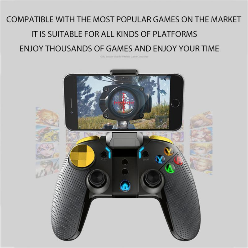 [Genuine] PG-9118BUGE Eat Chicken Game Bluetooth Wireless Gamepad STB S3VR BT gamepad android Control Joystick for Mobile PC