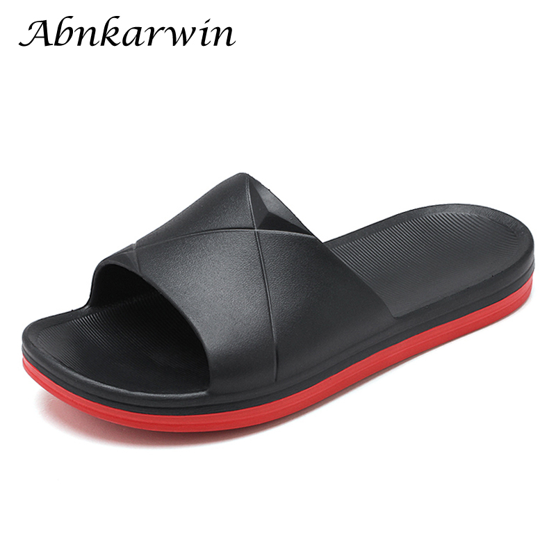 Summer Men Indoor Slippers Home Shoes Sleepers House Bedroom Sleeper Beach Mens Slates Slipper Claquette Homme Slipers Big Size