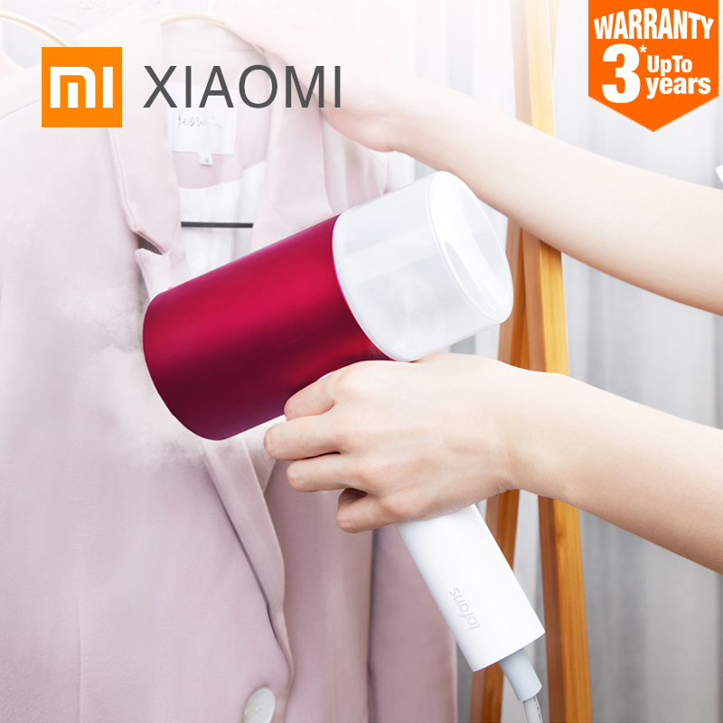 XIAOMI MIJIA Lofans Garment Steamer mini iron Portable travel Household Electric Generator cleaner Hanging Ironing Appliances-in Garment Steamers from Home Appliances