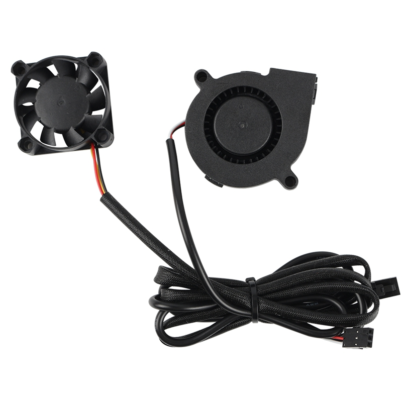 3 Wires DC 5V Fans Sets for <font><b>Prusa</b></font> <font><b>I3</b></font> <font><b>MK3</b></font> MK3S MK2/2.5 <font><b>3D</b></font> <font><b>Printer</b></font> image
