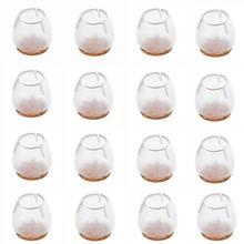 16 шт силиконовый чехол для ножки стула защитные накладки ног