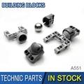 1 stück High-tech Gebäude Block Teile EV3 Universal rad + EV5 Stahl Ball BB607 Kompatibel mit No.92910 & 99948 + 92911 teile