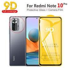 9D Schutz Glass Xiaomi Redmi Note 10 Pro Screen Protector, Panzerglas Note10/10Pro Kamera Film + Protector Folie Redmi-Note 10 Pro Panzerglas
