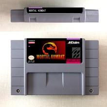 مورتال كومبات أو مورتال كومبات II أو في نهاية المطاف مورتال كومبات 3 عمل بطاقة الألعاب النسخة الأمريكية اللغة الإنجليزية