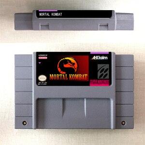 Image 1 - Mortal Kombat or Mortal Kombat II or Ultimate Mortal Kombat 3   Action Game Card US Version English Language