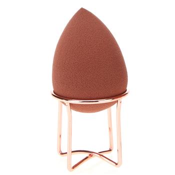 Darmowa wysyłka makijaż jajko kosmetyczne gąbka do pudru stojak ze stopu uchwyt do suszenia stojak kosmetyczny stojak na gąbeczkę Drop Shipping tanie i dobre opinie STAINLESS STEEL Rose gold 45*45mm