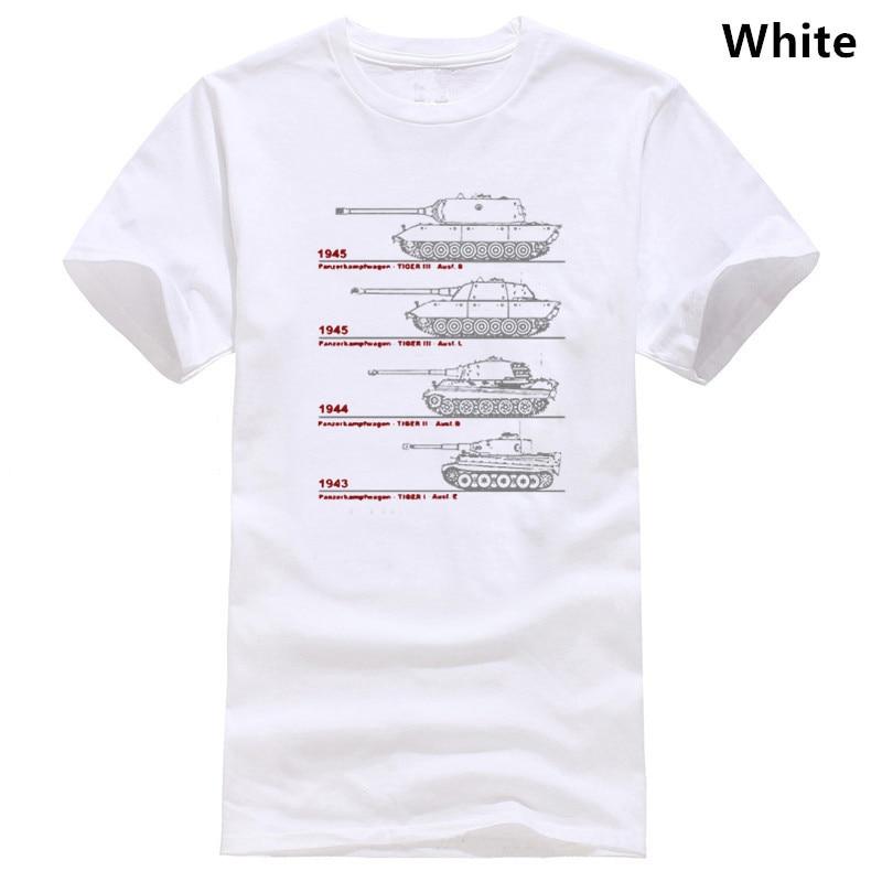 Tiger Tank Blueprint Patent German Army Panzer WW2 Wehrmacht T-Shirt