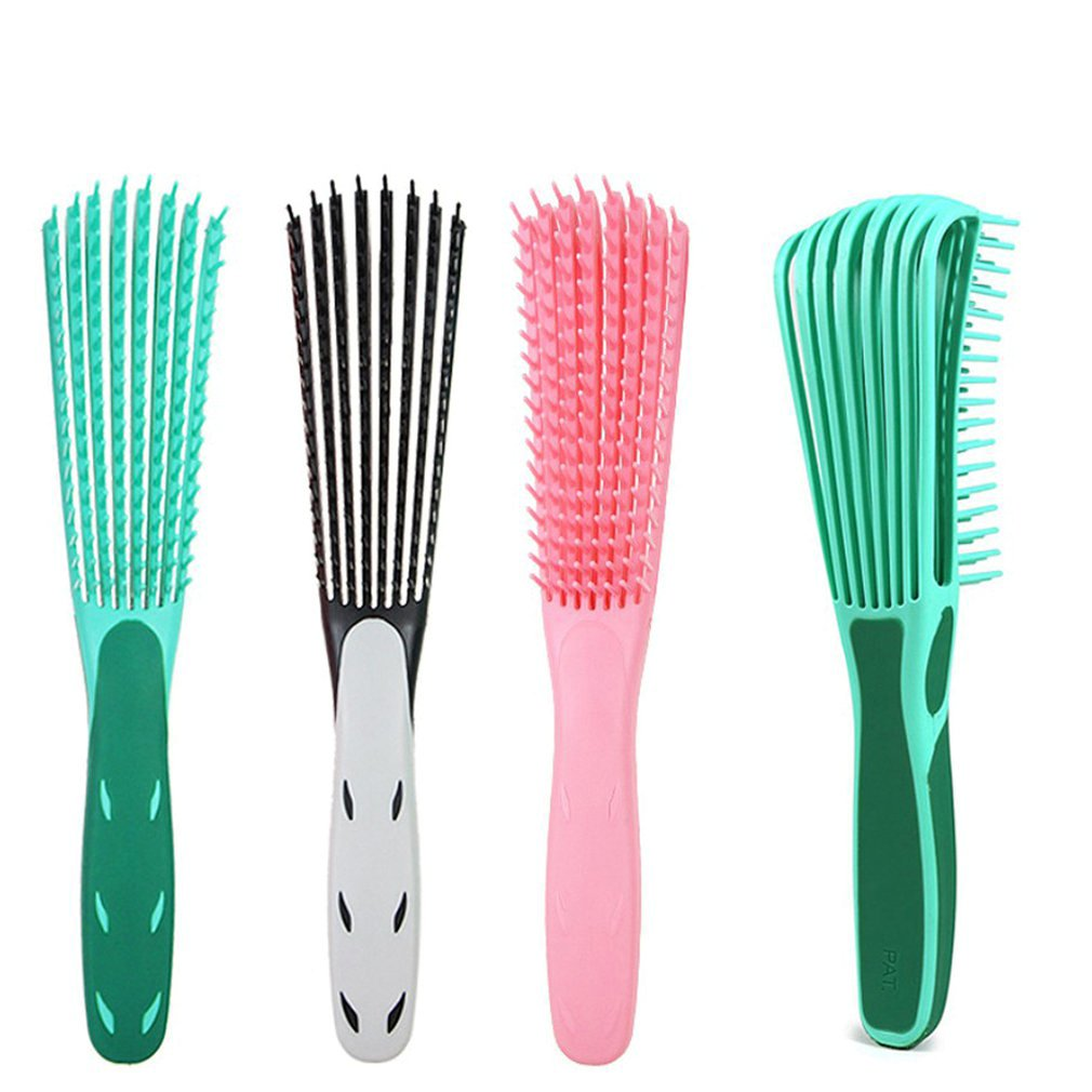 White Black/green/Pink Hair Brush Scalp Massage Comb Women Detangle Hairbrush Comb Health Care Reduce Fatigue