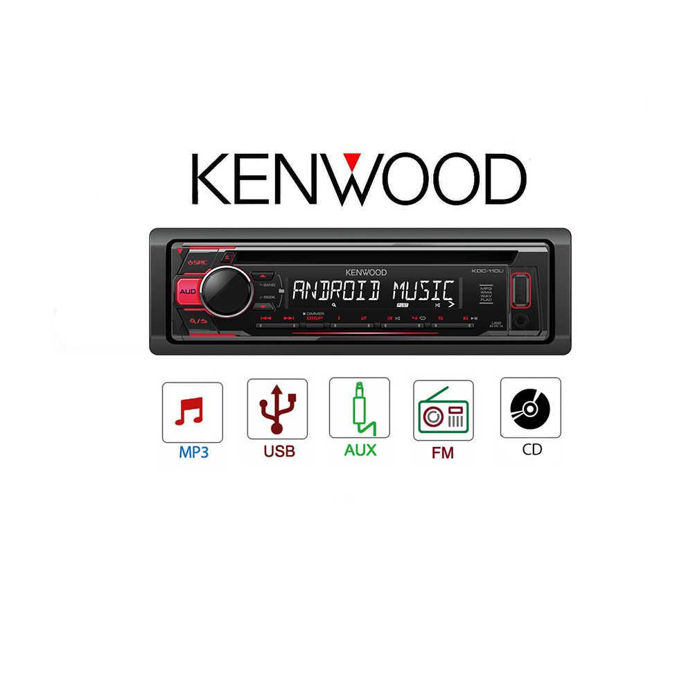AUTO RADIO KENWOOD KDC 11 UR|Car Radios| - AliExpress