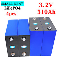 NOUVEAU 3.2V 310Ah lifepo4 batterie Rechargeable BRICOLAGE 12V 24V 310Ah 3.2v pour voiture Électrique RV Onduleur Solaire système de stockage D'énergie