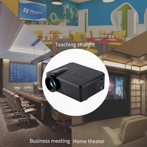BL-35 Mini Portable LED Projector LCD 1080P HD Multimedia Home Cinema Theater USB TF HDMI AV LED Beamer Projector for Home Use