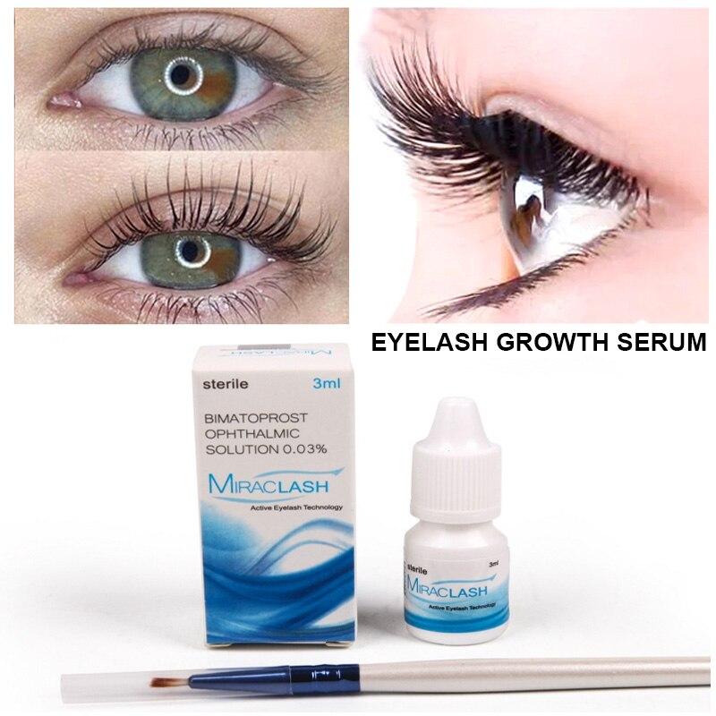 Eyelash Growth Eye Serum Eyelash Enhancer Longer Fuller Thicker Lashes Serum Eyelashes Lifting Eyebrows Enhancer Mascara Serum