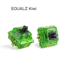 Equalz Kiwi Switch 5 Pins Tactile Switches For Customized Mechanical Keyboard Bottom Force 67g
