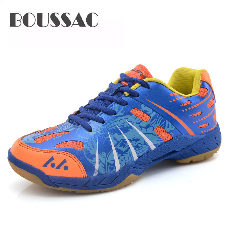 BOUSSAC Men Ultralight Tightrope Shoes For Badminton Training Breathing Anti-slip Sneakers Professional Wear-resistant Shoes