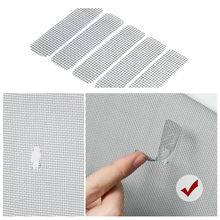 5pcs Insect Curtain Mosquito Net Tape Mesh Screens Windows Netting Fly Protector for Household Bedroom Protection