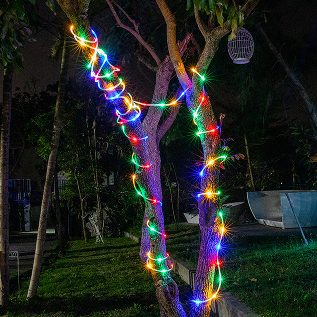 2020 Outdoor 10M Remote Light String 100 LEDs Waterproof Batteries Home Decoration Parties Weddings Manor Lighting Decor #2335