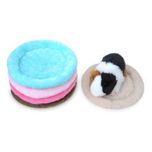 Warm Soft Velvet Cotton Small Pet Winter Pad Hamster Plush Bed Guinea Pig Cage House Mat Hedgehog Nest Squirrel Chinchilla Home