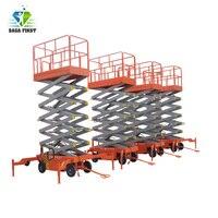 320kg 10 미터 자동 전기 가위 리프트