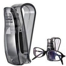 1 шт., автомобильный солнцезащитный козырек, солнцезащитные очки, держатель для очков, держатель для билетов, зажим для ABS, авто крепеж, Cip, авто аксессуары, горячая Распродажа