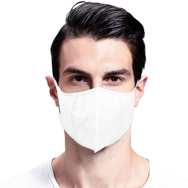 5pc PM2.5 Mouth Mask High Quality  Anti Dust Mask Windproof Mouth-muffle Bacteria Proof Flu Face Masks 3