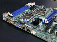High quality desktop motherboard for X8DTL 3F 1366 X58 Server Board Supports X5650 will test before shipping