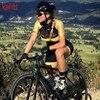 Kafitt verão novo de manga curta ciclismo wear terno macacão feminino triathlon ciclismo wear mountain bike macaquinho 15
