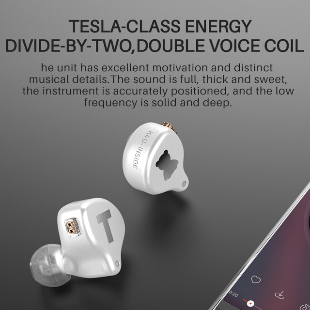TFZ S2 PRO In-ear Earphone Dynamic Diaphragm Earphone HIFI Bass Headset Earbud With 2Pin Cable 0.78mm Detachable 5