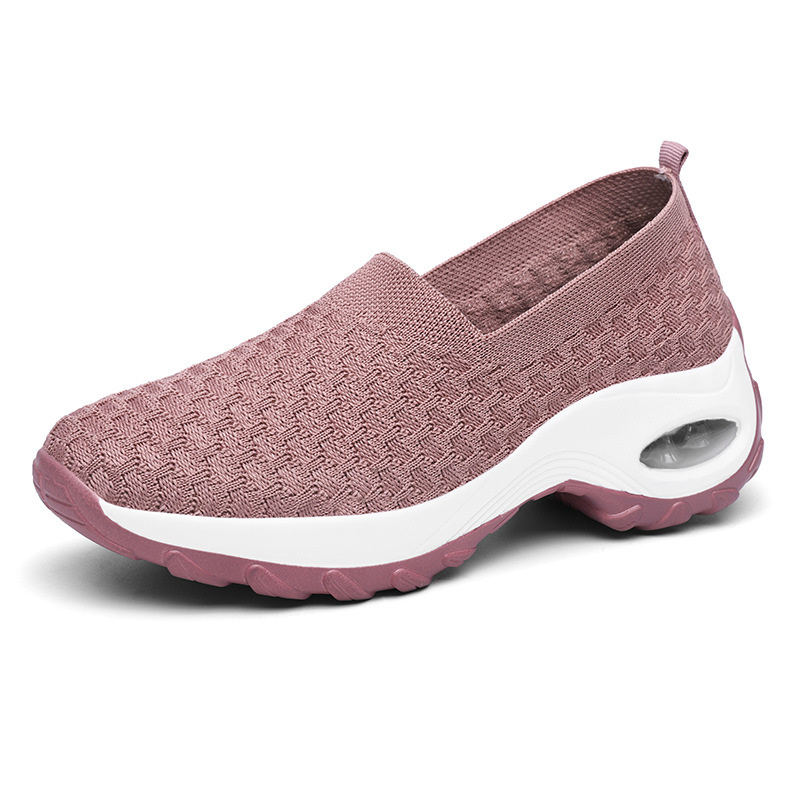 2020 Fashion Women's Slip-on Walking Shoes Tennis Shoes Air Cushion Mesh Casual Work Nursing Shoes Gym Athletic Sport Sneakers
