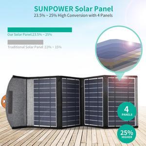 CHOETECH 5V 2.4A солнечная панель 22W для iPhone 11 X XS USB выходное устройство портативное водонепроницаемое солнечное зарядное устройство для телефона ...