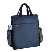 Multifunction Office Document Bag Briefcase File Folder A4 Bag Portable School Bookcase Vertical Laptop Bag