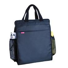 Wielofunkcyjne biuro aktówka teczki Folder plików A4 torba przenośny szkoła regał pionowe torba na laptopa