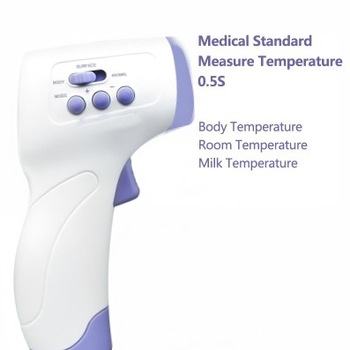 2020 Muti-fuction Baby Digital Thermometer Infrared Forehead Non-contact Infrared Termometro With LCD Backlight Termometr